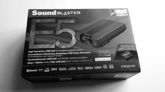 Sound Blaster E5 DAC