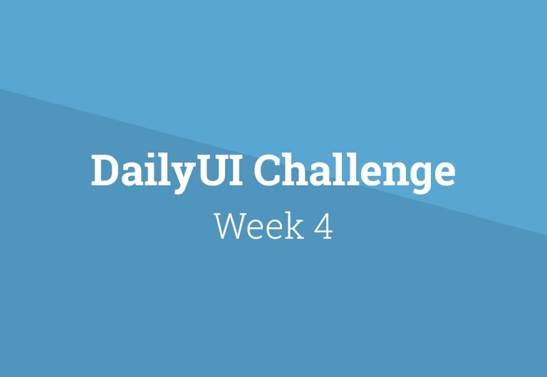 Daily-UI-week-04
