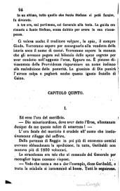 """Resoconto del fatto storico d'Aspromonte estratto dal libro di Franco Mistrali """"Da Capua ad Aspromonte e Varignano"""" Milano 1862 - segue fino a pag. 114"""