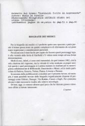 Biografie dei medici che si sono occupati della ferita di Garibaldi ad Aspromonte - pross. 14 pag.