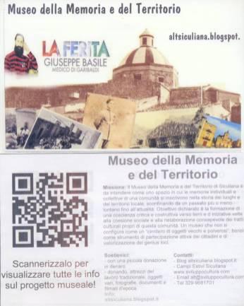 Museo della Memoria del Territorio, Siculiana