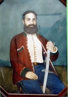 Il dottor Giuseppe Basile medico di Garibaldi (olio su tela)