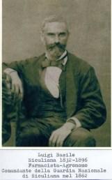 Luigi Basile (1832-1896) Farmacista-Agronomo Comandante della Guardia Nazionale di Siculiana