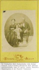 Famiglia del farmacista Luigi Basile.