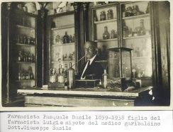 Il farmacista Pasquale Basile.