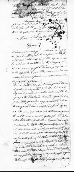 Relazione medica sulla ferita del Generale Garibaldi redatta dal dottor Giuseppe Basile