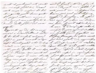 Lettera della Contessa Teresita Giusti di Padova al Medico Garibaldino