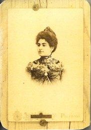 Mariangela Salto Vecchio Verderame moglie del dottor Giuseppe Basile.