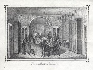 Stanza di Garibaldi al Varignano