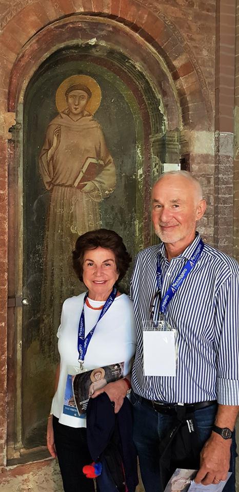 Gli americani Rosella e Charles Garrett principali sostenitori del restauro