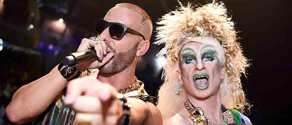 Pride Village tra glitter e note