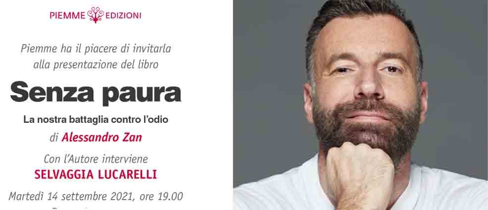 "Alessandro Zan al Pride Village con ""Senza Paura"""