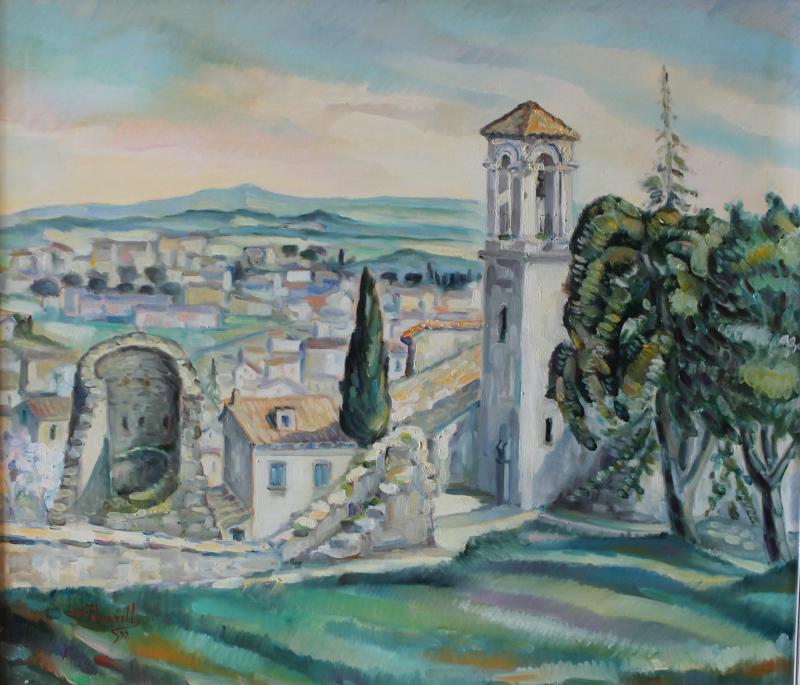 Campobasso dalle torri Terzano e San Bartolomeo
