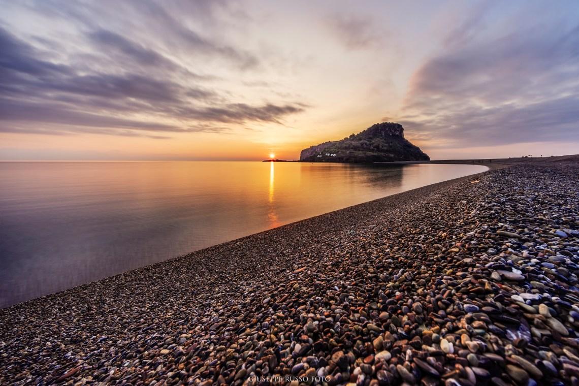 sunset praia a mare