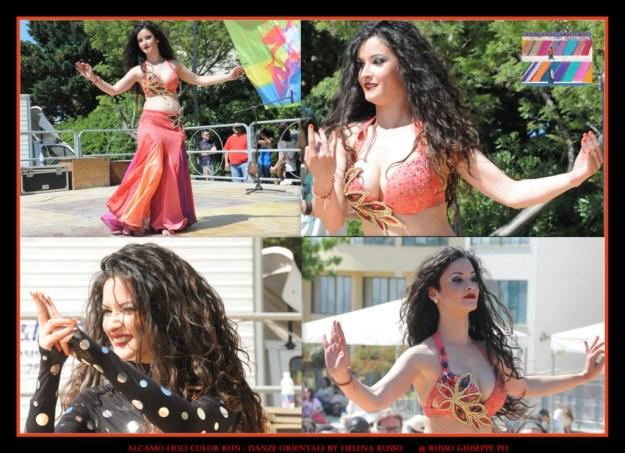 ALCAMO HOLI COLOR RUN Danze Orientali by Helena Russo