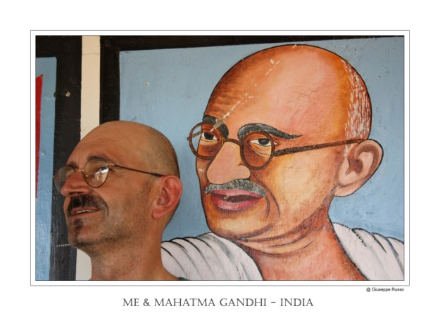 me & Mahatma Gandhi
