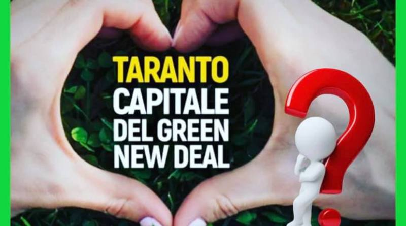 Taranto capitale del Green New Deal?