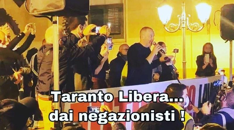 Taranto libera… dai negazionisti!
