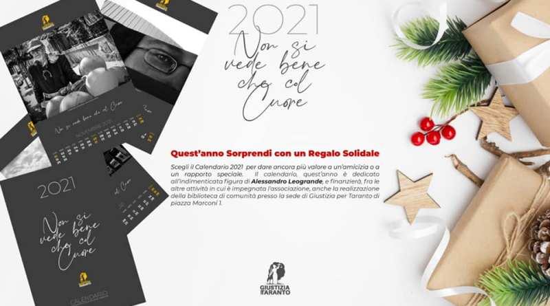 Calendario delle bellezze sentimentali tarantine 2021: dove trovarlo