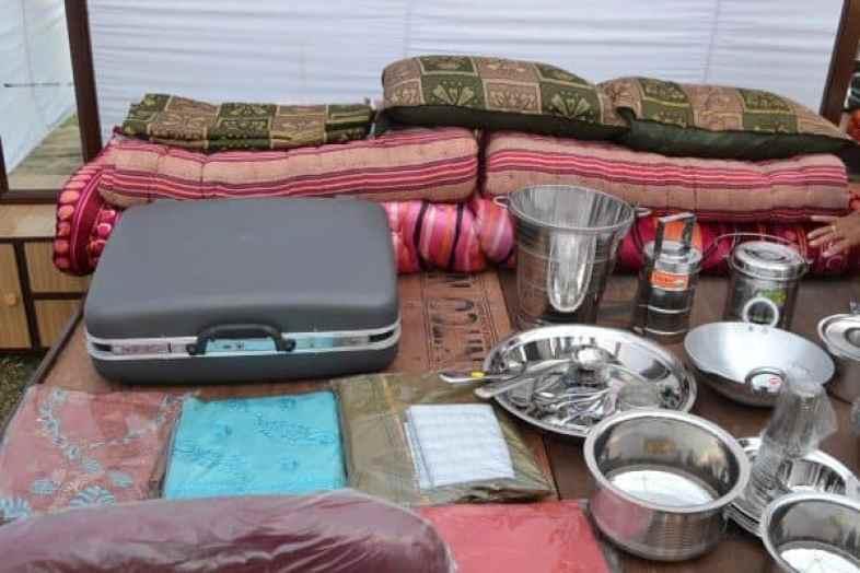 A dowry set