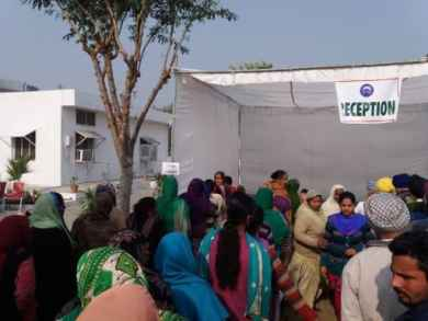 More than 400 patients were attended