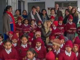 Village school visit 2017