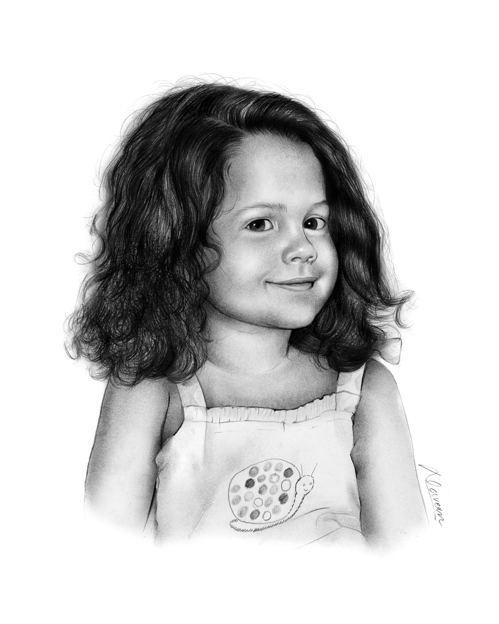 Pencil Sketch Portraits From A Photo Art Gallery Examples