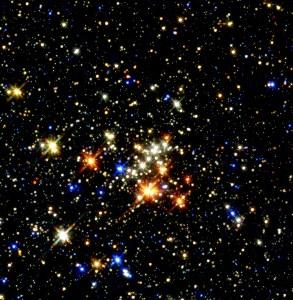 Quintuplet-Cluster
