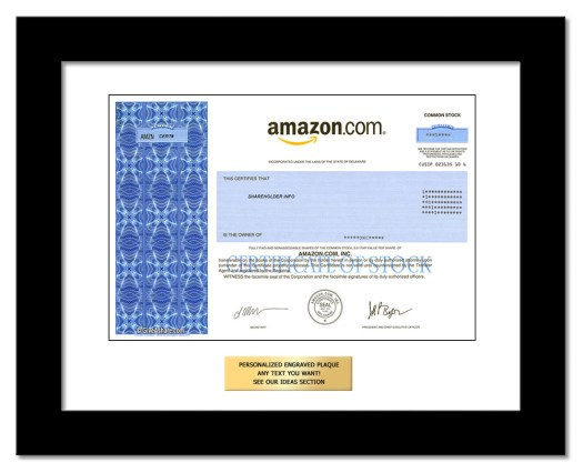 Buy Amazon Stock as a Gift | One Share of Amazon in Just 1 ...