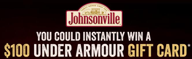 Johnsonville Flame Grilled Chicken Instant Win Game