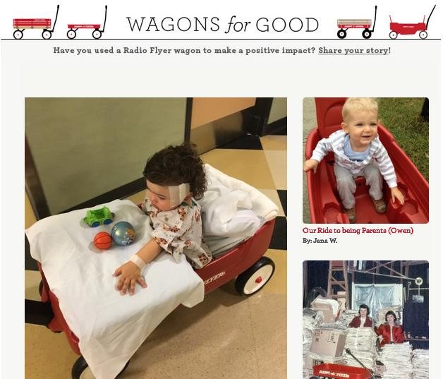 Wagons For Good Sweepstakes