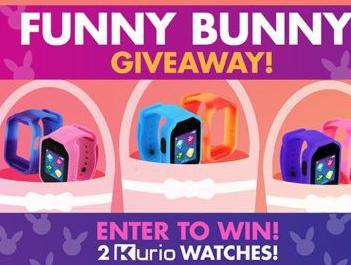 Funny Bunny Giveaway Sweepstakes – Chance to Win A Pair Of Kurio Watches