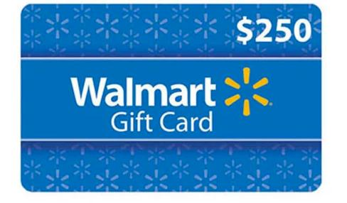 Dealmaxx Walmart Gift Card Sweepstakes - Chance to Win $250 Walmart Gift Card