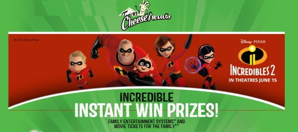 Frigo Cheese Heads Incredible Instant Game - Win Gift Card