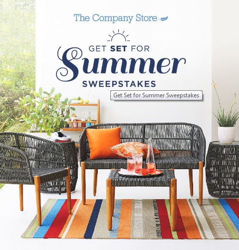 Get Set For Summer Sweepstakes - Win One Palo Alto Lounge Chair And Many More