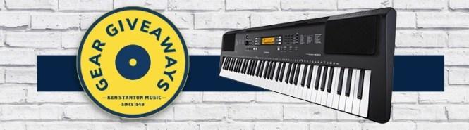 Ken Stanton Music Gear Giveaway - Win A Portable Keyboard
