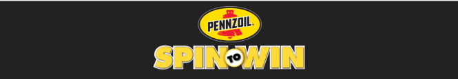 Pennzoil Spin To Win Promotion Giveaway