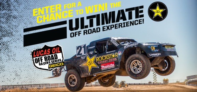 Rockstar National Off Road Sweepstakes - Win A Trip To Las Vegas
