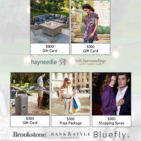 The FindKeep Love $2000 Backyard Party Giveaway - Win A Gift Card