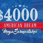 $4,000 American Dream Mega Sweepstakes