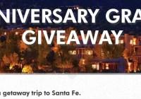 C&I Santa Fe Getaway Sweepstakes
