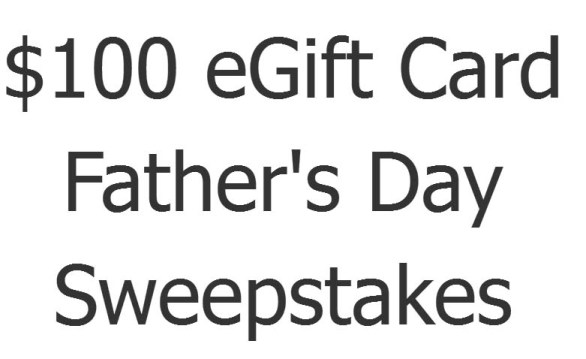 Check 'n Go Father's Day Sweepstakes