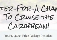 Cruise the Caribbean Sweepstakes