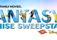 Disney Family Movies Fantasy Cruise Sweepstakes