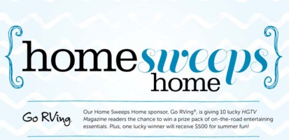 Home Sweeps Home Sweepstakes
