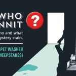 Hoover Who Dunnit Sweepstakes - Win Hoover Smartwash Upright Carpet Cleaner