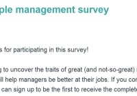 People Management Survey Sweepstakes