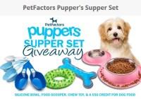 PetFactors Pupper's Supper Set Giveaway