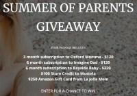 Summer of Parents Giveaway