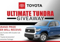 The Bassmaster Toyota Ultimate Tundra Giveaway - Win Double Cab Standard Bed Truck